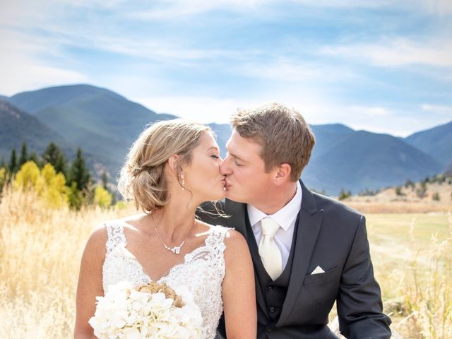 Britan and Ashley's Wedding in Red Lodge, Montana 16