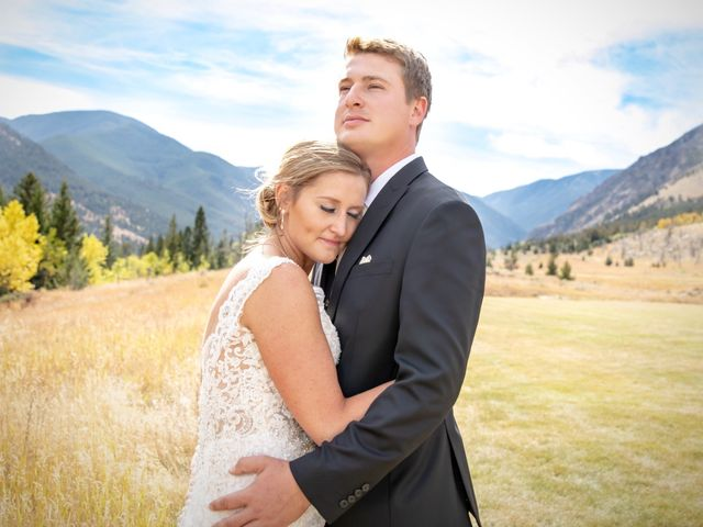 Britan and Ashley's Wedding in Red Lodge, Montana 17
