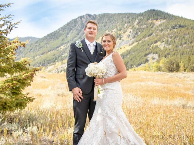 Britan and Ashley's Wedding in Red Lodge, Montana 18