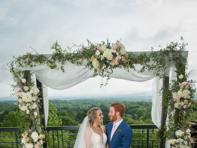 Jack and Gabrielle's Wedding in Asheville, North Carolina 12