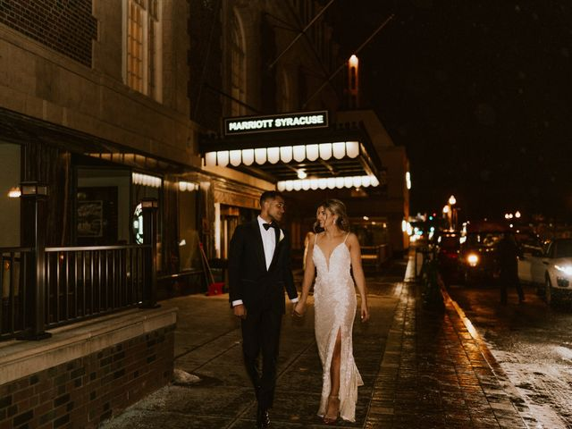 Troy and Michele's Wedding in Syracuse, New York 12