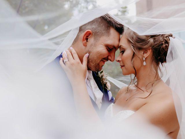 The wedding of Tara and Peter