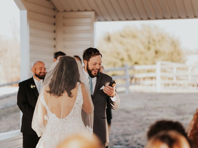 Trevor and Jamillah's Wedding in Weatherford, Texas 29