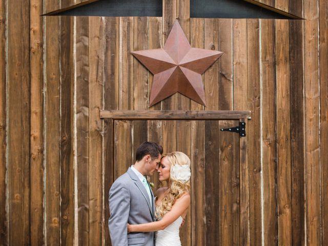 The wedding of Aaron and Melissa