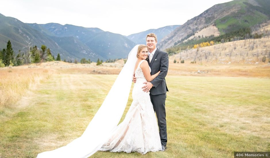 Britan and Ashley's Wedding in Red Lodge, Montana
