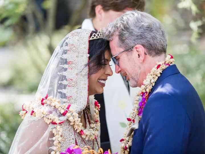 The wedding of Gray and Aneetha