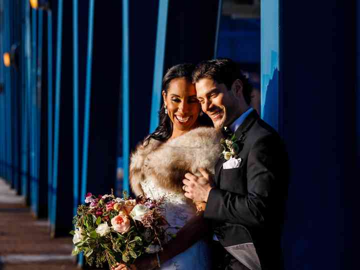 The wedding of Monique and Tim