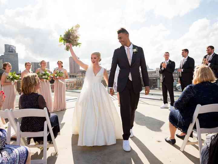 The wedding of Bridget and Dan