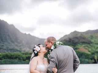 The wedding of Mona and Jonathan
