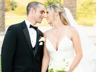 The wedding of Britney and Evan