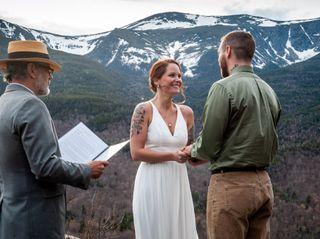 The wedding of Amy and Wendel 1