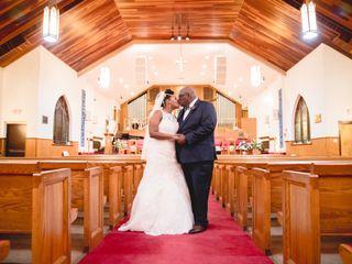 The wedding of Adara  and David