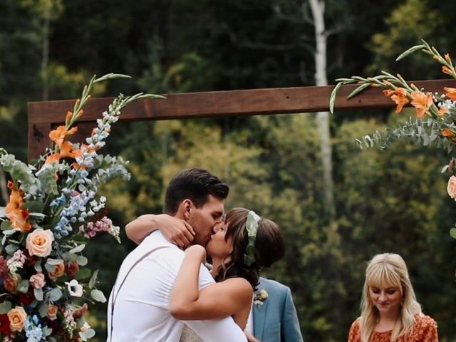 Austin and Shallyn's Wedding in Idaho Springs, Colorado 17