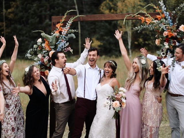 Austin and Shallyn's Wedding in Idaho Springs, Colorado 1