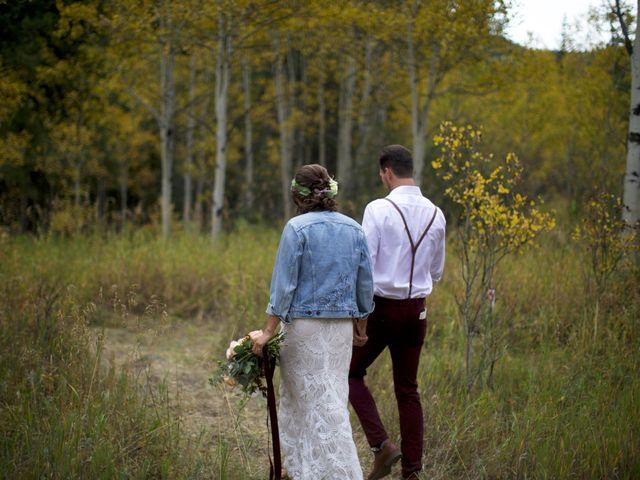 Austin and Shallyn's Wedding in Idaho Springs, Colorado 24