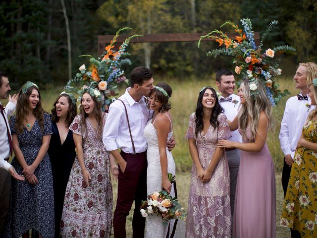 Austin and Shallyn's Wedding in Idaho Springs, Colorado 26