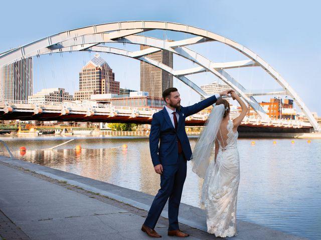 The wedding of Lindsay and Chuck