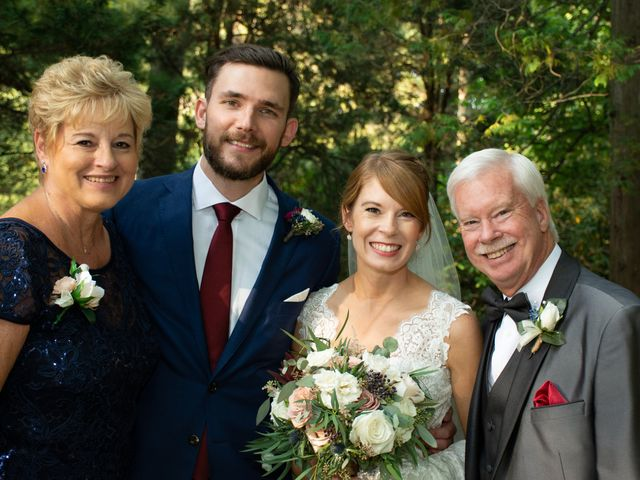 Chuck and Lindsay's Wedding in Rochester, New York 30