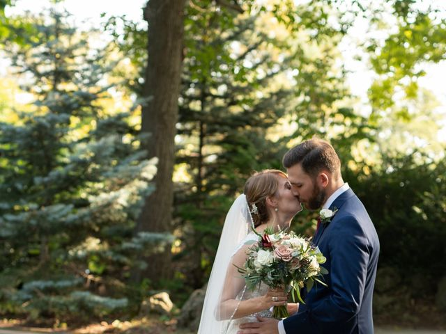 Chuck and Lindsay's Wedding in Rochester, New York 36