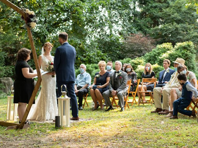 Chuck and Lindsay's Wedding in Rochester, New York 57