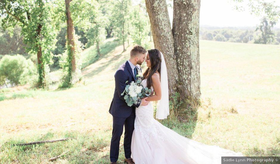 Ashley and Josiah's Wedding in Roanoke, Virginia