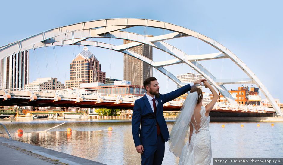 Chuck and Lindsay's Wedding in Rochester, New York