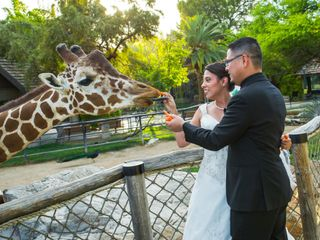 The wedding of George and Candace 1