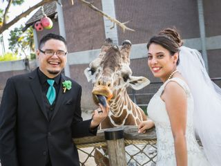 The wedding of George and Candace 2