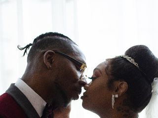The wedding of Lashamela  and Courtney  1