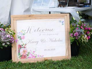 The wedding of Kacey and Nick 1