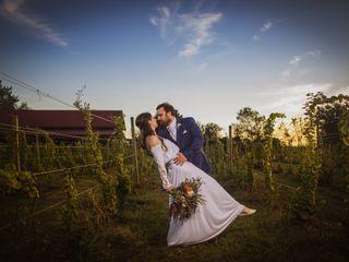 The wedding of Tyler and Dana