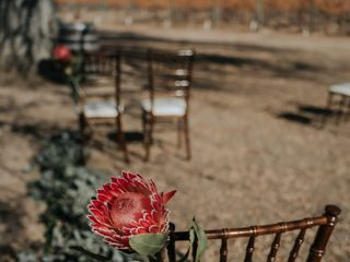The wedding of Delena and Calvin 1