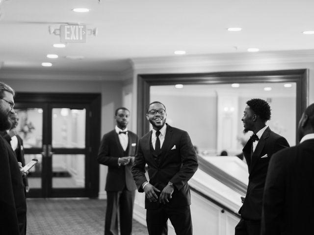 Kierra Savage and Robert's Wedding in Detroit, Michigan 17