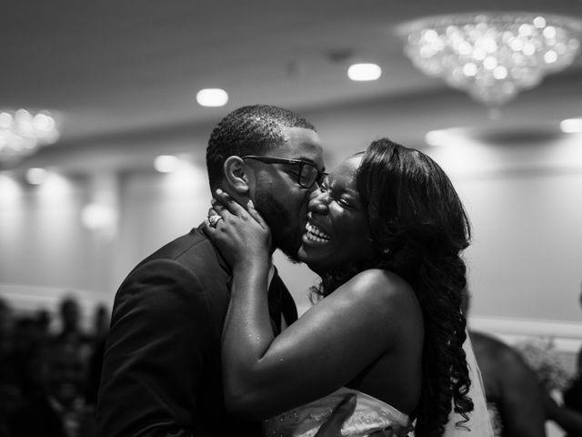 Kierra Savage and Robert's Wedding in Detroit, Michigan 19
