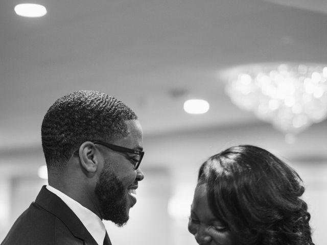 Kierra Savage and Robert's Wedding in Detroit, Michigan 20