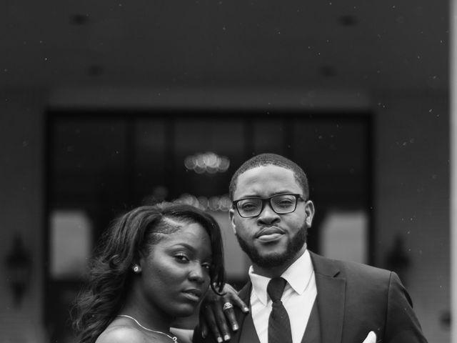 Kierra Savage and Robert's Wedding in Detroit, Michigan 21