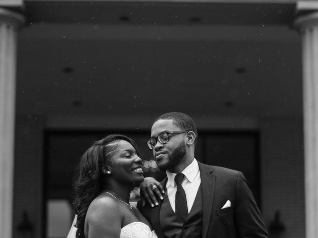 Kierra Savage and Robert's Wedding in Detroit, Michigan 22