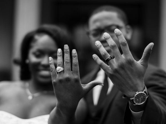 Kierra Savage and Robert's Wedding in Detroit, Michigan 23