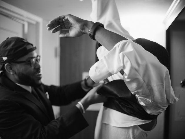 Kierra Savage and Robert's Wedding in Detroit, Michigan 26