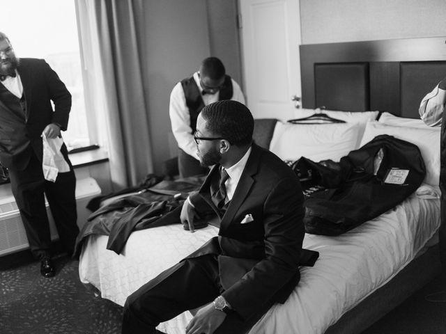 Kierra Savage and Robert's Wedding in Detroit, Michigan 30