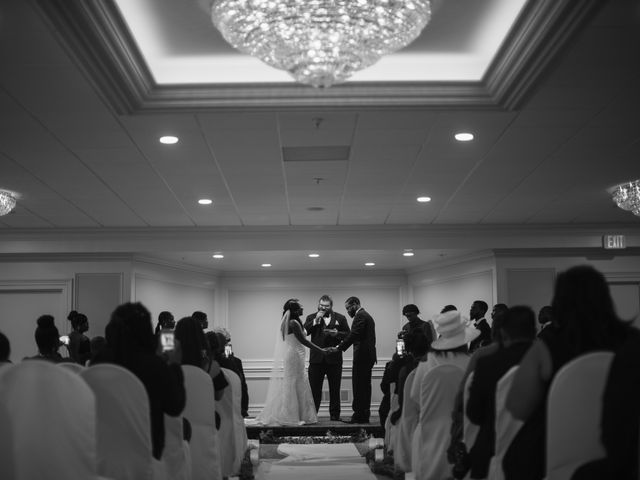 Kierra Savage and Robert's Wedding in Detroit, Michigan 40