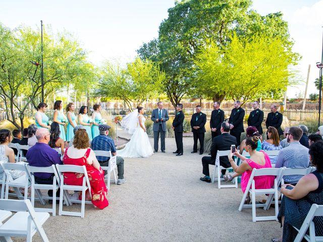 Candace and George's Wedding in Tucson, Arizona 16