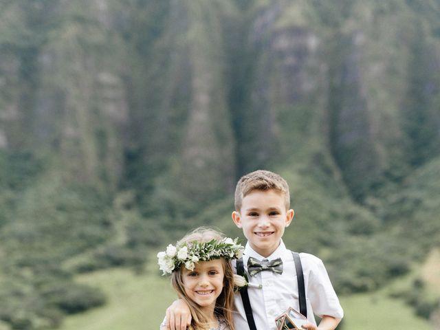 Zeke and Kimberley's Wedding in Kaneohe, Hawaii 3