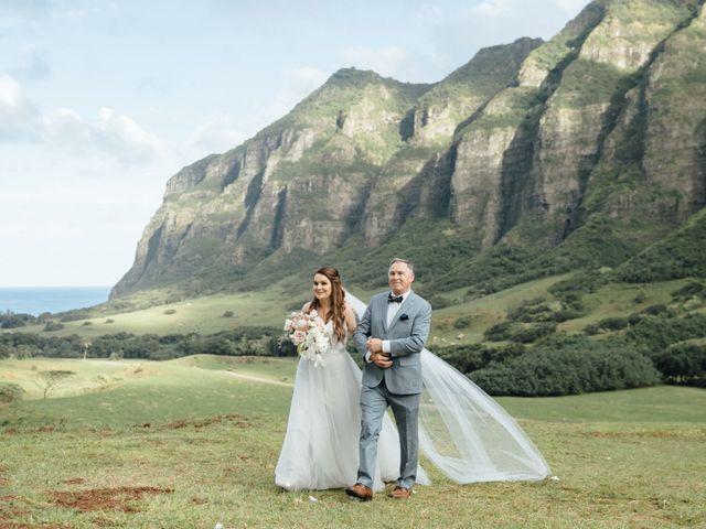 Zeke and Kimberley's Wedding in Kaneohe, Hawaii 7