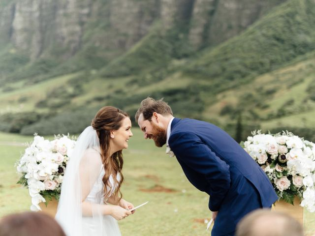 Zeke and Kimberley's Wedding in Kaneohe, Hawaii 9