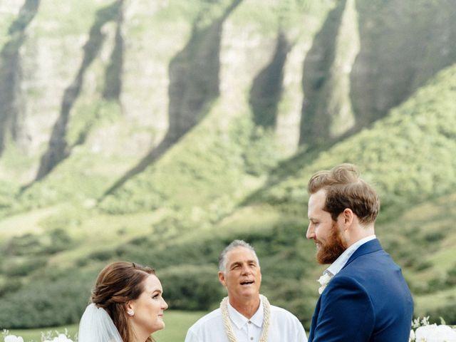 Zeke and Kimberley's Wedding in Kaneohe, Hawaii 10