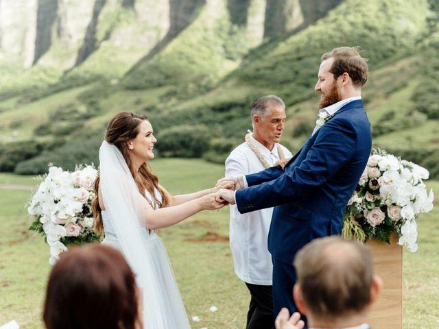 Zeke and Kimberley's Wedding in Kaneohe, Hawaii 11