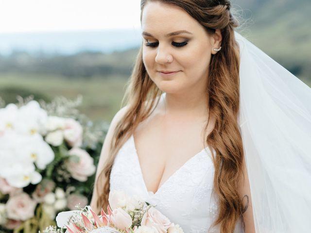 Zeke and Kimberley's Wedding in Kaneohe, Hawaii 13
