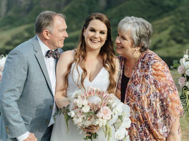 Zeke and Kimberley's Wedding in Kaneohe, Hawaii 16