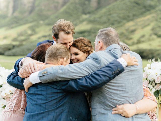 Zeke and Kimberley's Wedding in Kaneohe, Hawaii 18